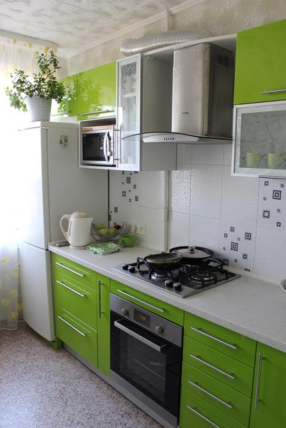 Прямые кухни 3м дизайн
